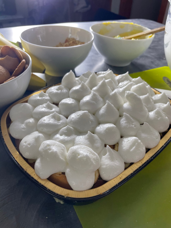 You've seen Chef Shani's banana pudding. Here is where her recipe was inspired, by our dad's Southern Banana Pudding.
