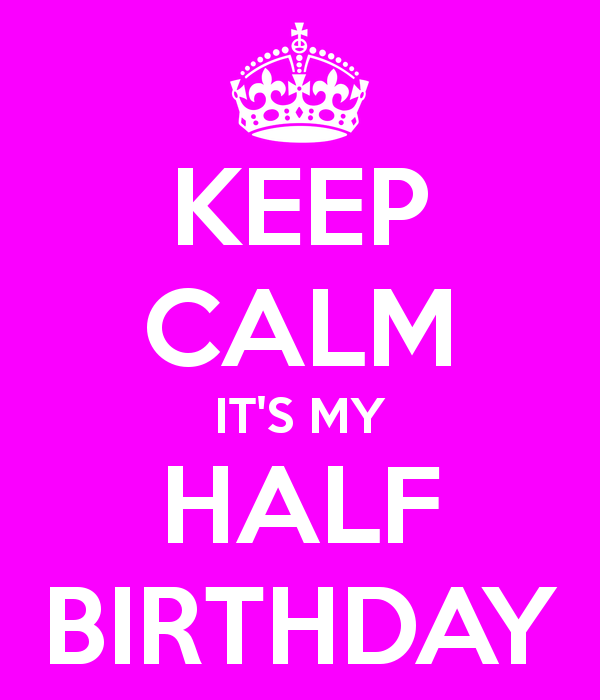 Happy Half Birthday to me 30 Before 30 Updates Beauty and The Bump