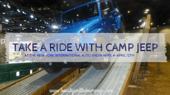 Take a Ride with Camp Jeep® at the New York International Auto Show