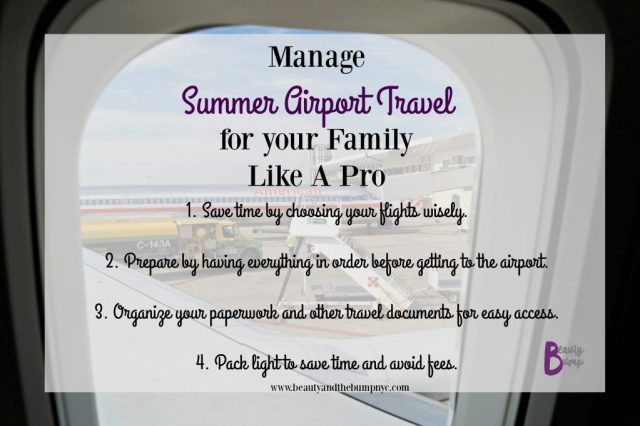 Manage Summer Airport Travel Tips