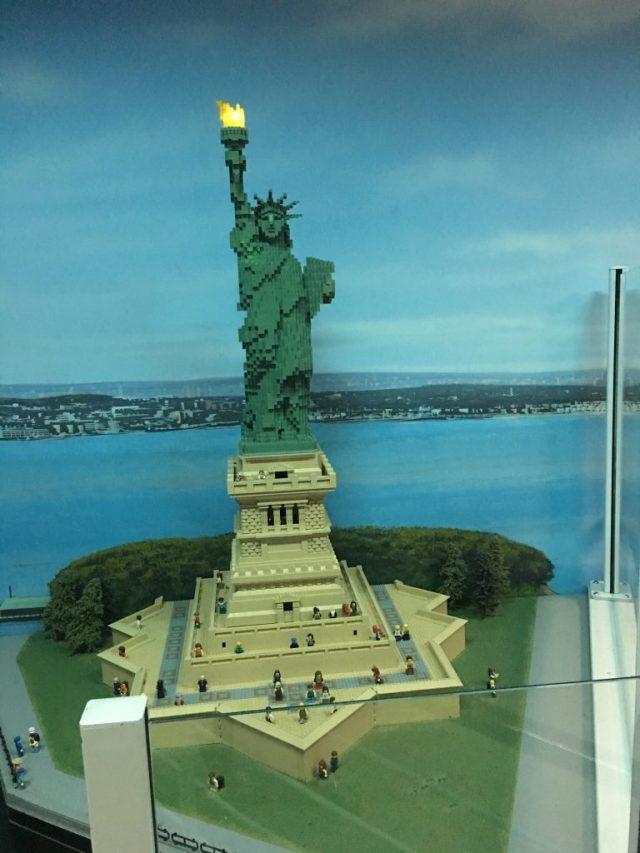 Statue of Liberty LEGO Model