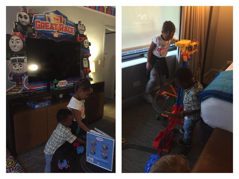 Room Playing Thomas