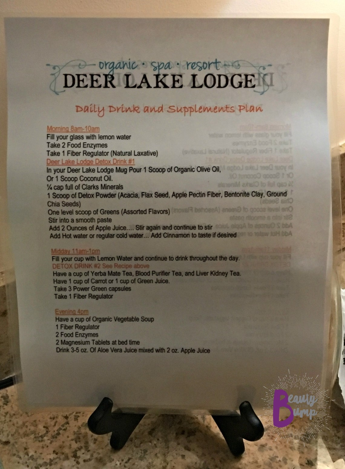 deer-lake-lodge-resort-drink-and-supplement-plans