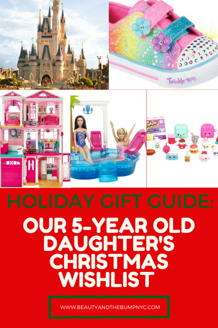 if you havent finished shopping for your 5 year old daughter or niece maybe her wish list items will give you some ideas