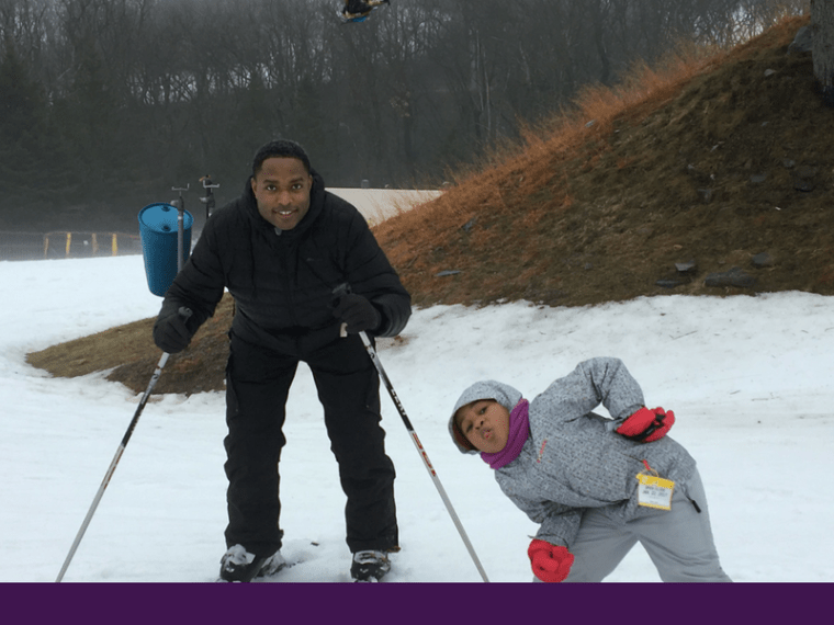 We've Found Our New Family Winter Activity at Camelback Mountain
