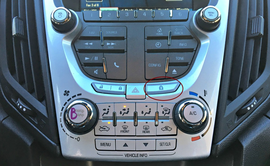 Chevrolet Equinox LT Child Safety Off