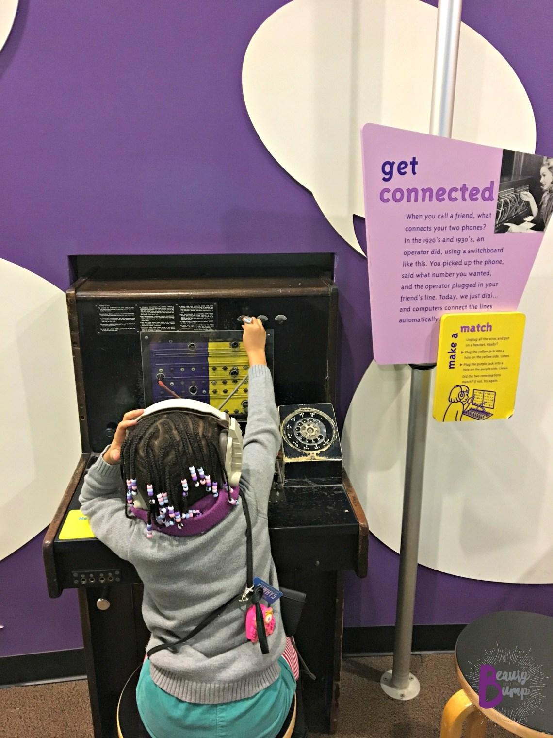 Long Island Children's Museum Communication Station