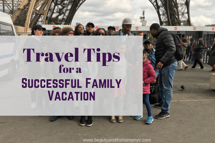 Travel Tips for a Successful Family Vacation for a Large Family