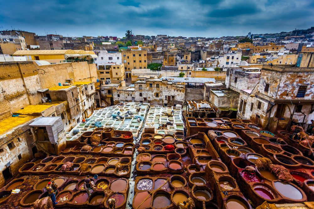 Fez Leather Tanneries