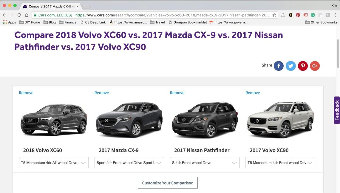 Cars Com Compare >> Cars Com Makes Shopping For A New Family Car Easy