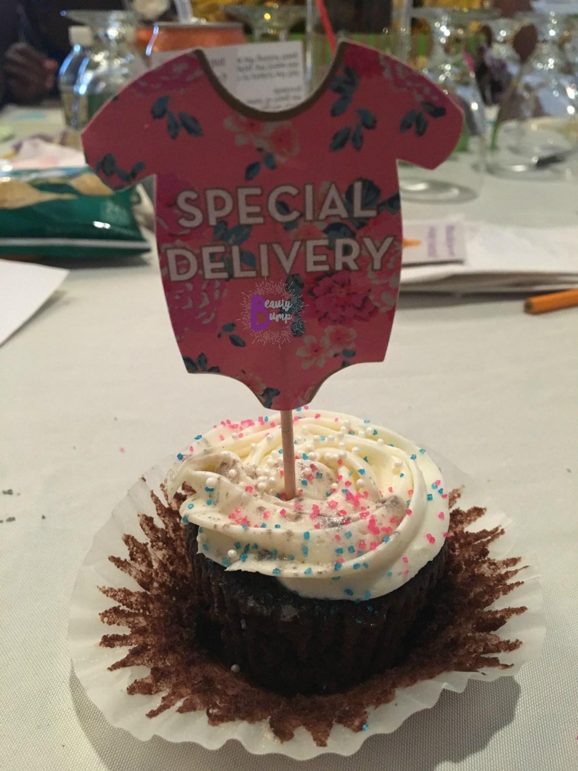 2017 Mitsubishi Outlander Sport LE AWC baby shower cupcake
