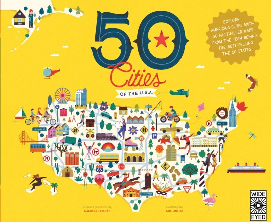 50 Cities Book