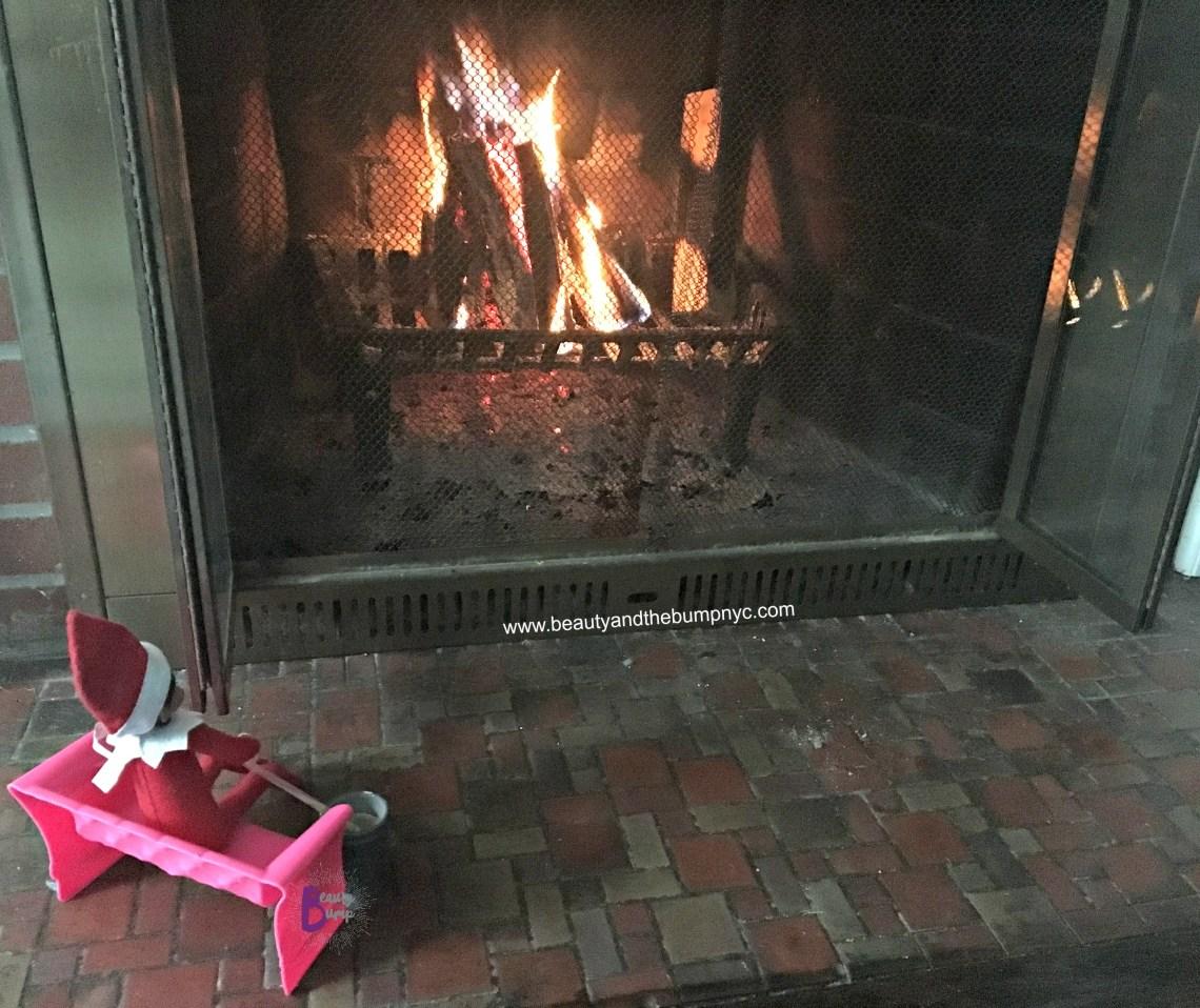 Amazon Prime Original Holiday Specials Fireplace Elf