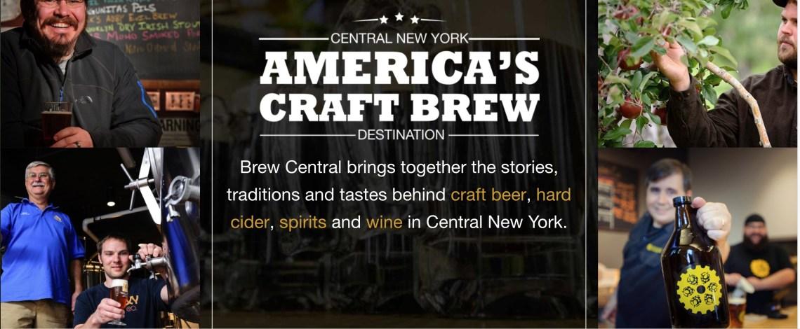 Brew Central New York Vacation Region Craft Brews
