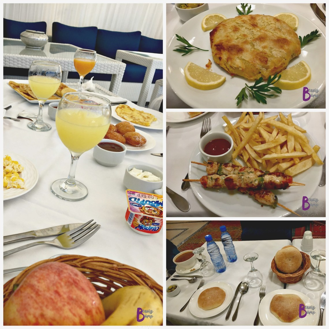 Lina Ryad and Spa Food breakfast and dinner