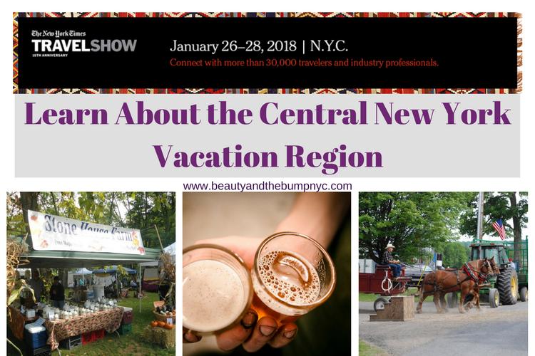 NYT Travel Show Central New York Vacation Region
