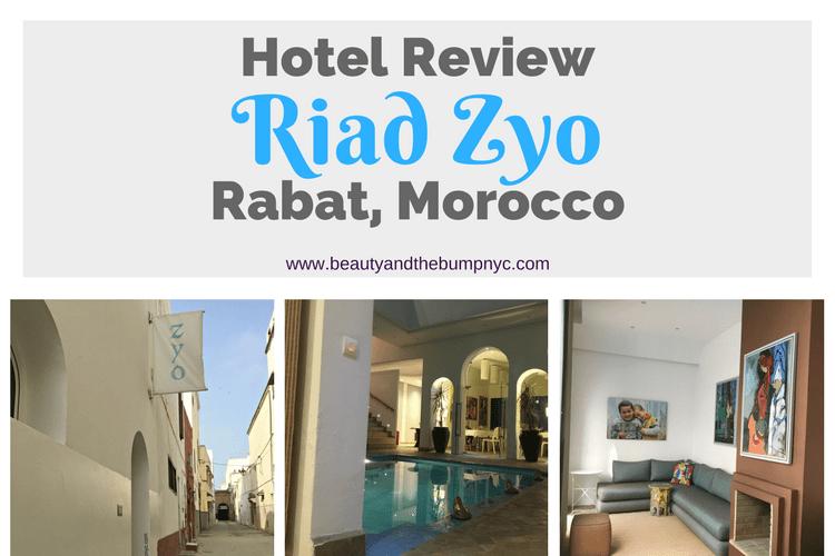 Riad Zyo Rabat Morocco Hotel Review