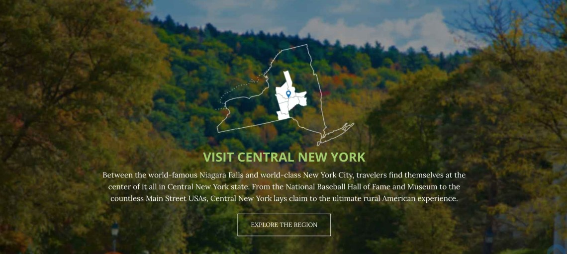 Visit Central New York Vacation Region
