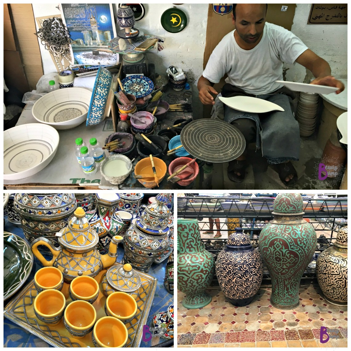 Moroccan Shopping Potter in Fez