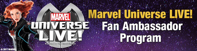 Marvel Universe LIVE Fan ambassador program