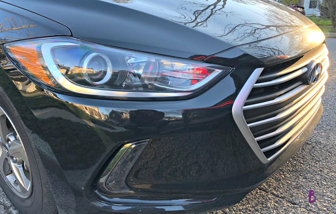 2018 Hyundai Elantra Eco Grill