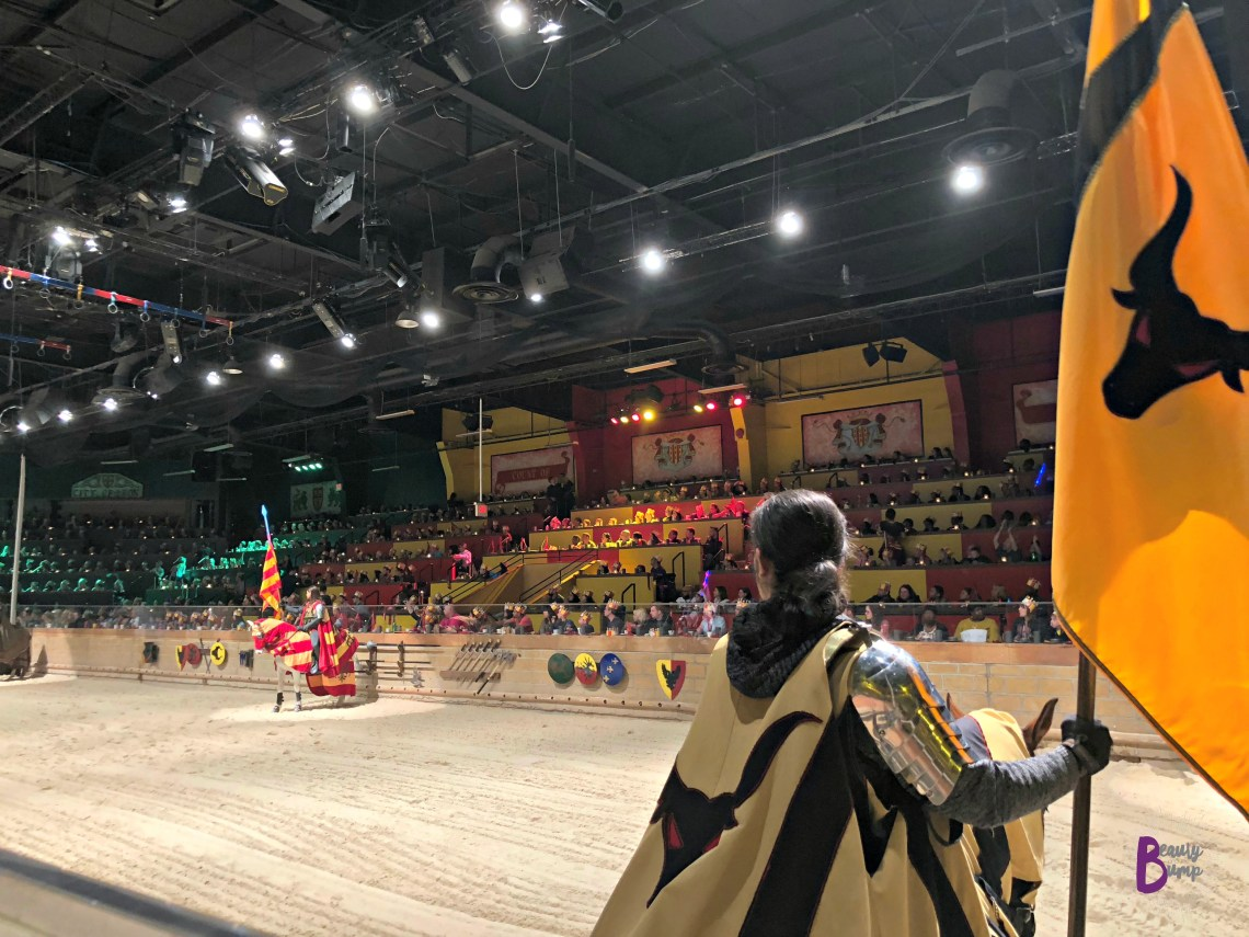 Medieval Times New Jersey The Yellow Knight