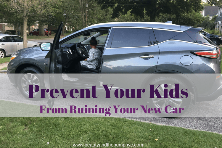 Tips to Prevent Your Kids from Ruining Your New Car