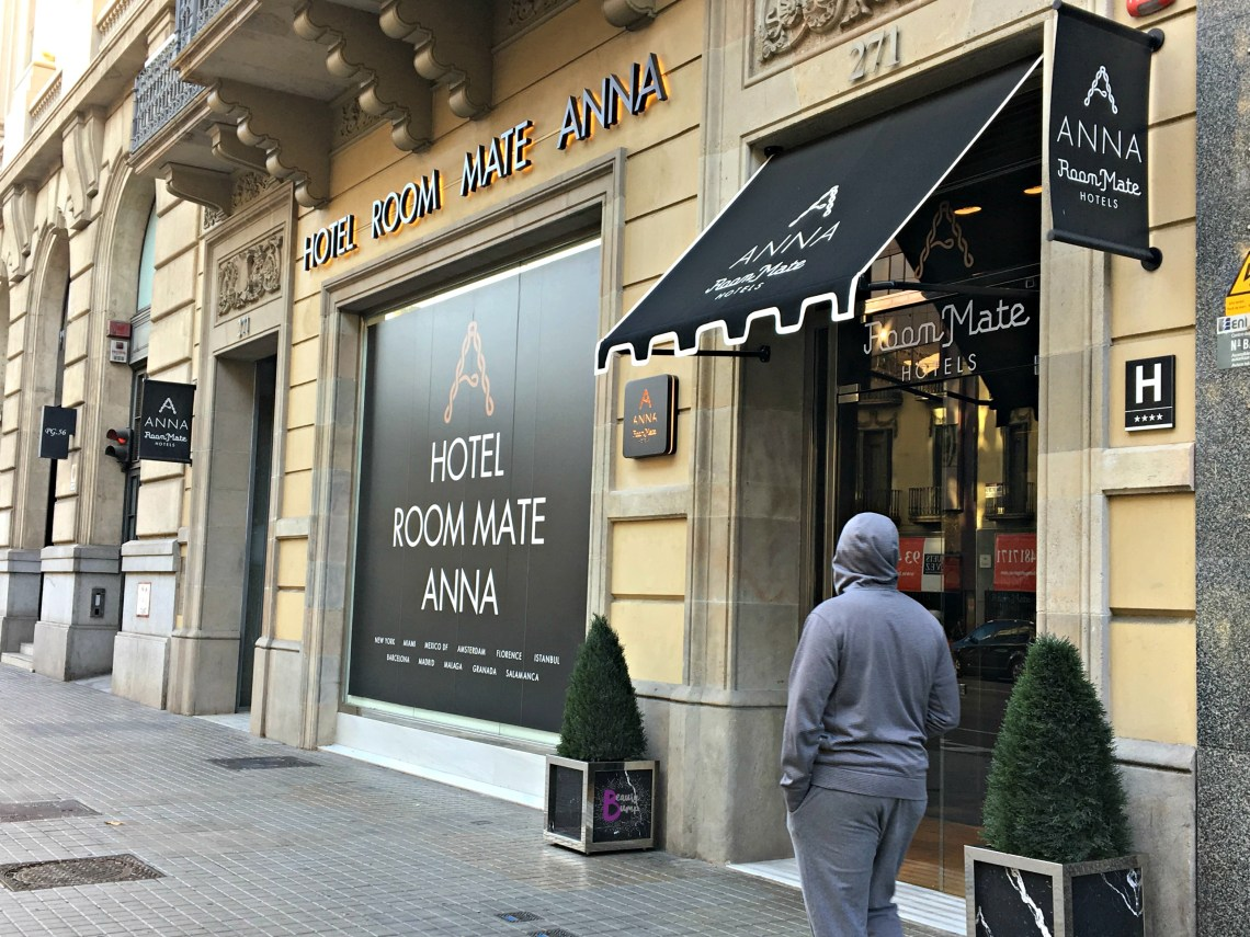 Hotel Room Mate Anna the perfect hotel for couples visiting barcelona