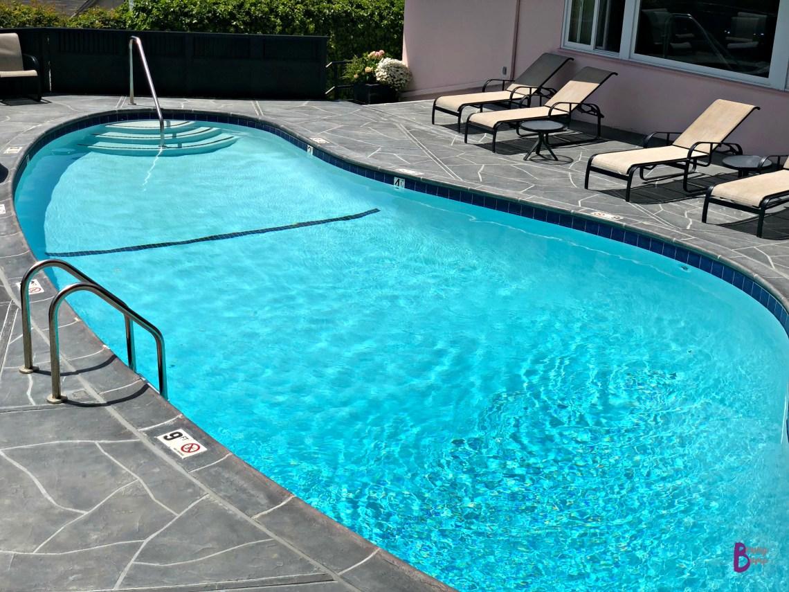 Pool at Hofsas House Hotel