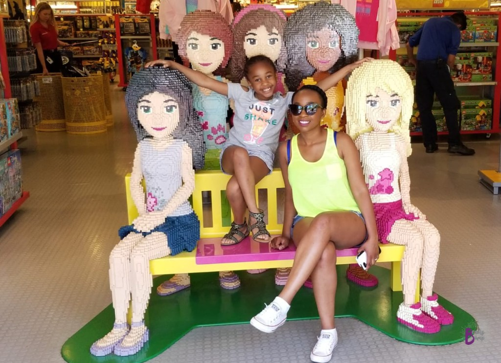 plan a Mother daughter visit just for the two of you at your daughter's favorite amusement park. Legoland california