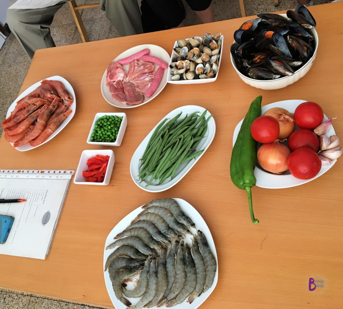 How to make authentic paella ingredients