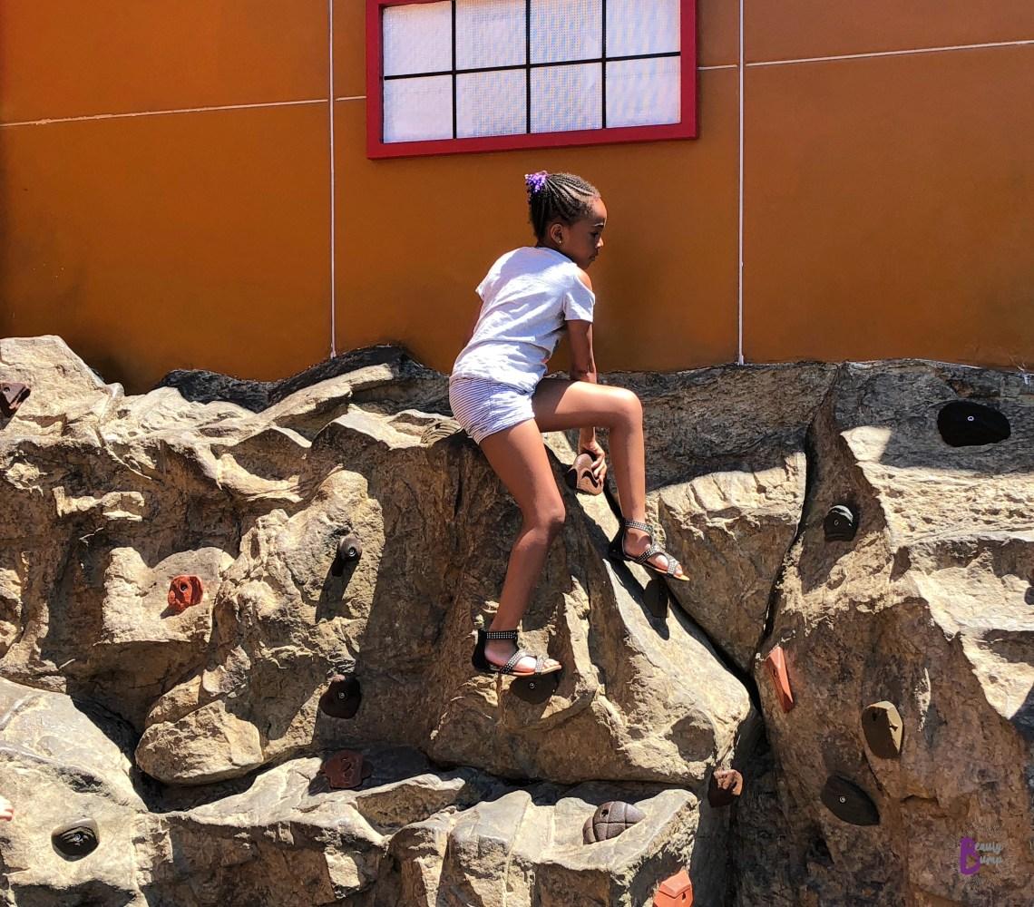 LEGOLAND California_LEGO Ninjago World Rock Climbing