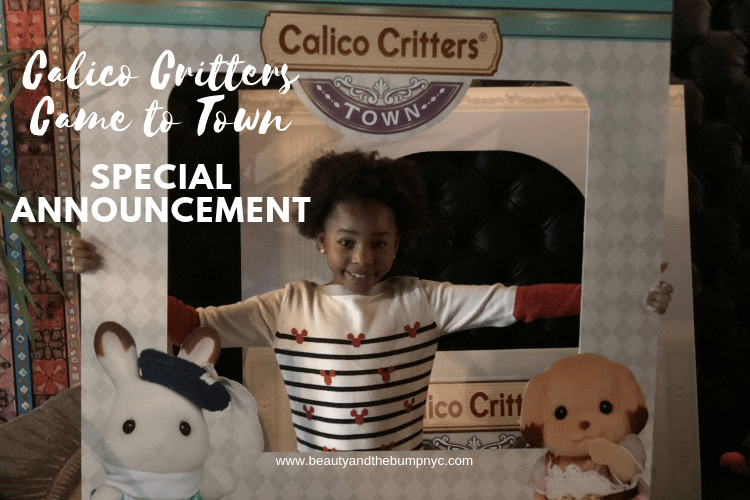 Calico Critters Came to Town + Special Announcement