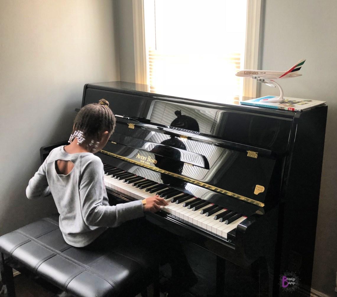 PianoPiano NY Avery Bond Upright Piano ChloesWorldofPlay