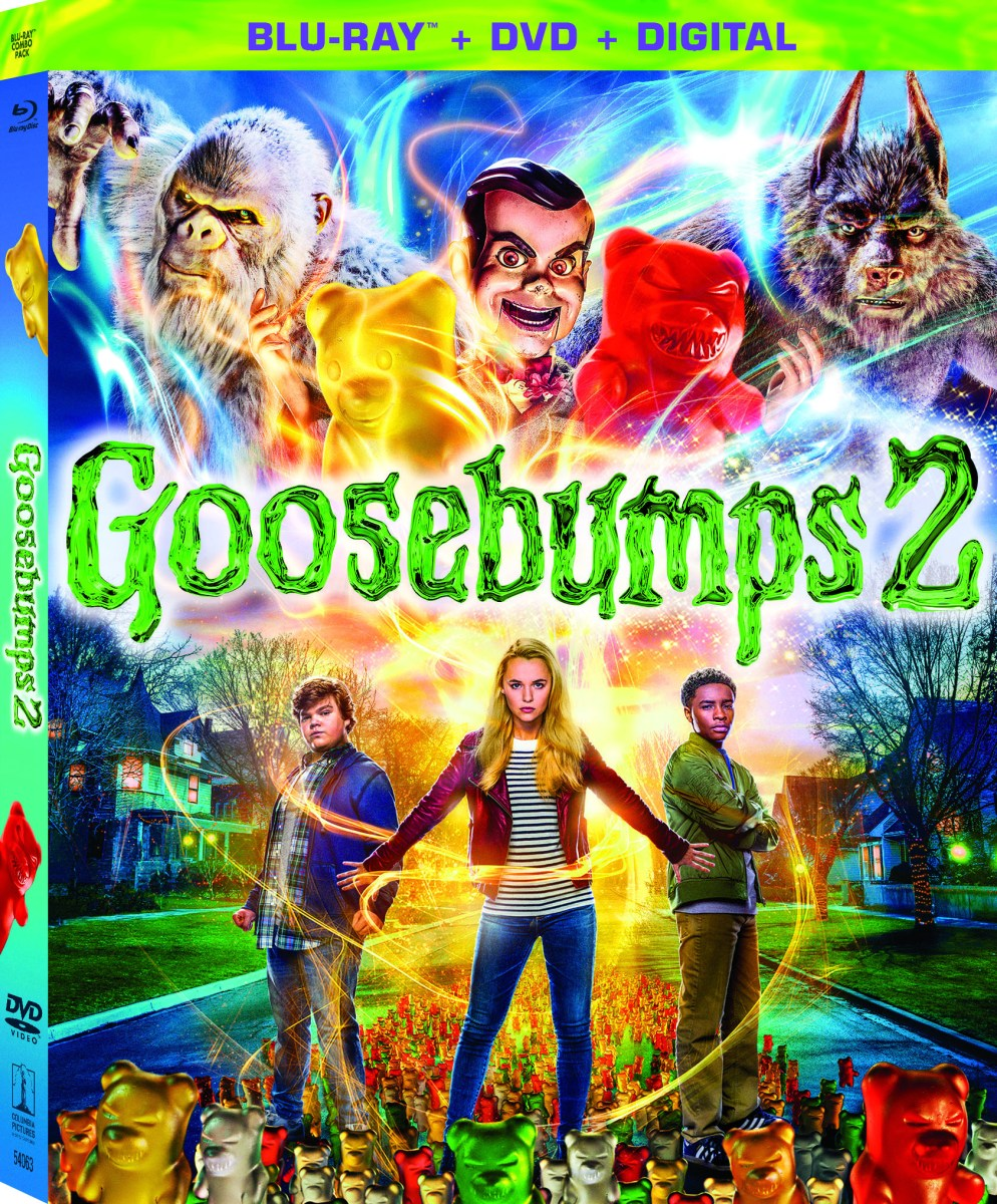 Have  a Monster Movie Night with Goosebumps 2 Movie on DVD & Blu-Ray