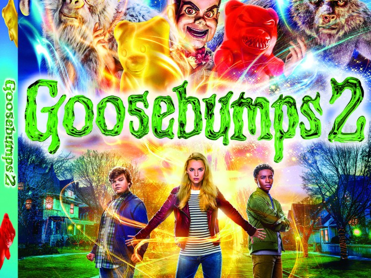 Goosebump 2 Movie on DVD and Blu-Ray Giveaway