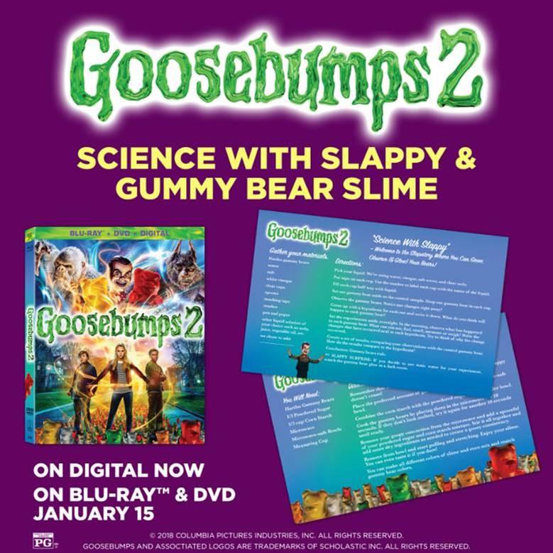 Goosebumps 2 on DVD