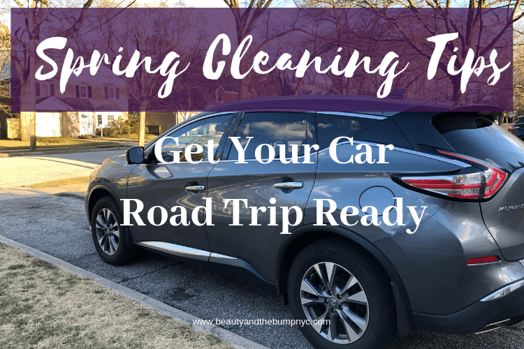 Spring Cleaning Tips to Get Your Car Road Trip Ready