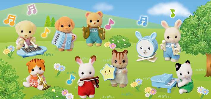 Calico Critters Baby Band Series