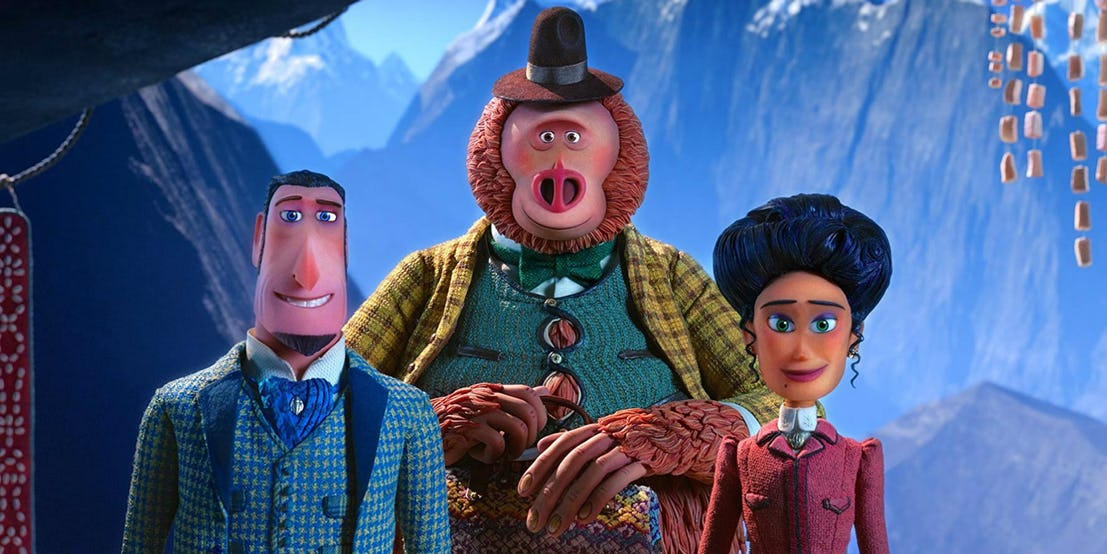 Link, Sir Lionel Frost Missing Link Movie review #MissingLink