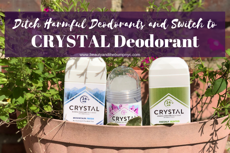 Ditch Harmful Deodorants and Switch to CRYSTAL Deodorant
