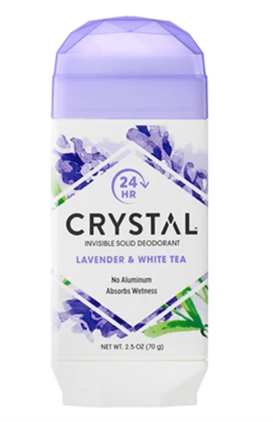 Using clean products like Crystal Deodorant helps ensure fertility health