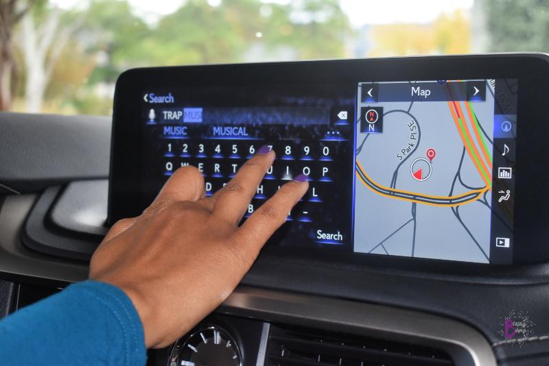 Lexus RX 450h Navigation Screen