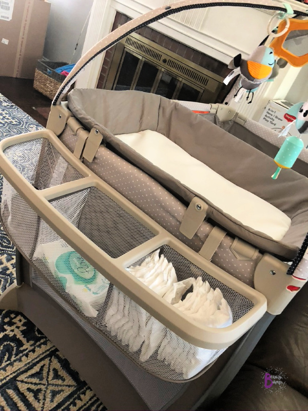 The Tiny Love 6-in-1 Here I Grow Activity Play Yard is perfect for growing babies encouraging cognitive development. It's great for travel too.