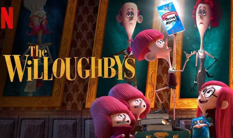 If you're planning a family movie night, add The Willoughbys on Netflix April 22 to your list & these free activity sheets will make the night fun.