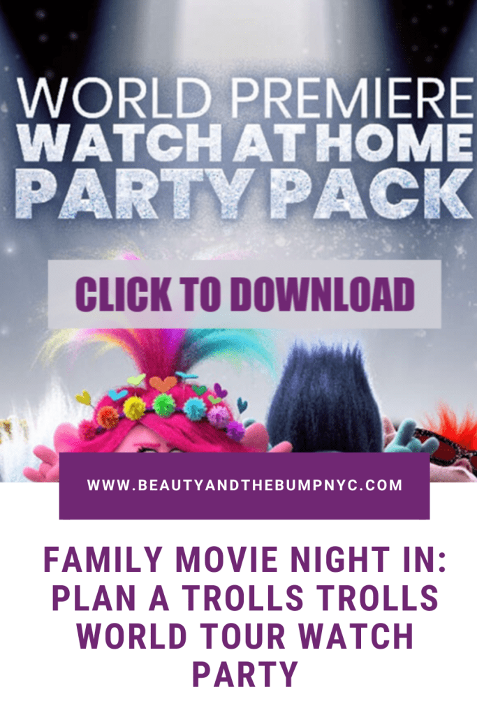 To make our family movie night special, and yours too, I am sharing some cool Trolls World Tour activity sheets like coloring pages.
