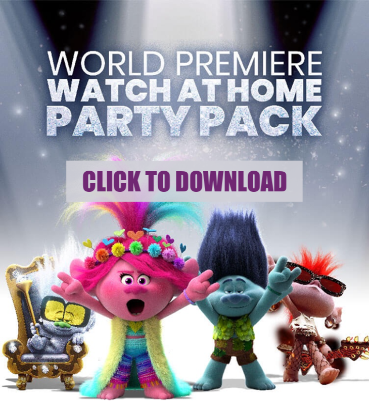 Download Family Movie Night Trolls World Tour Movie Watch Party Activity Pack