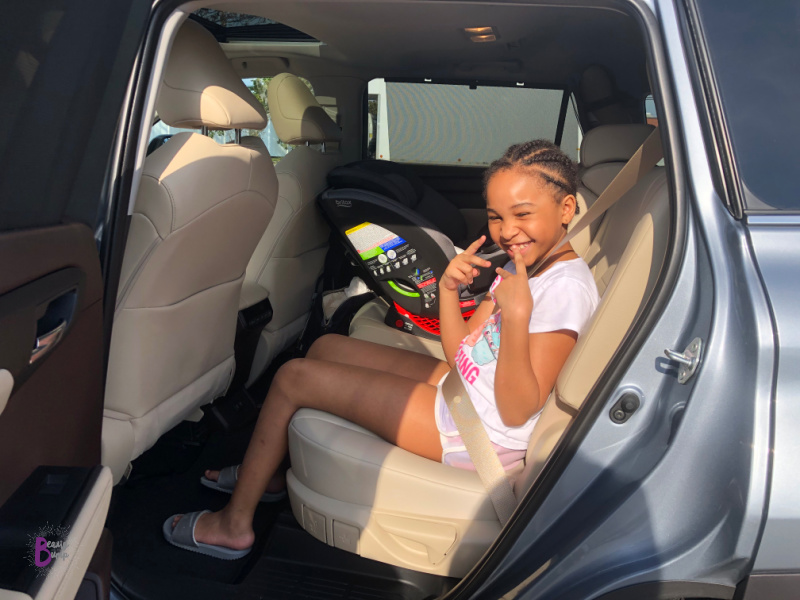 Our 9-year-old daughter fell in love with the Highlander XLE. It's the best road trip vehicle for families.