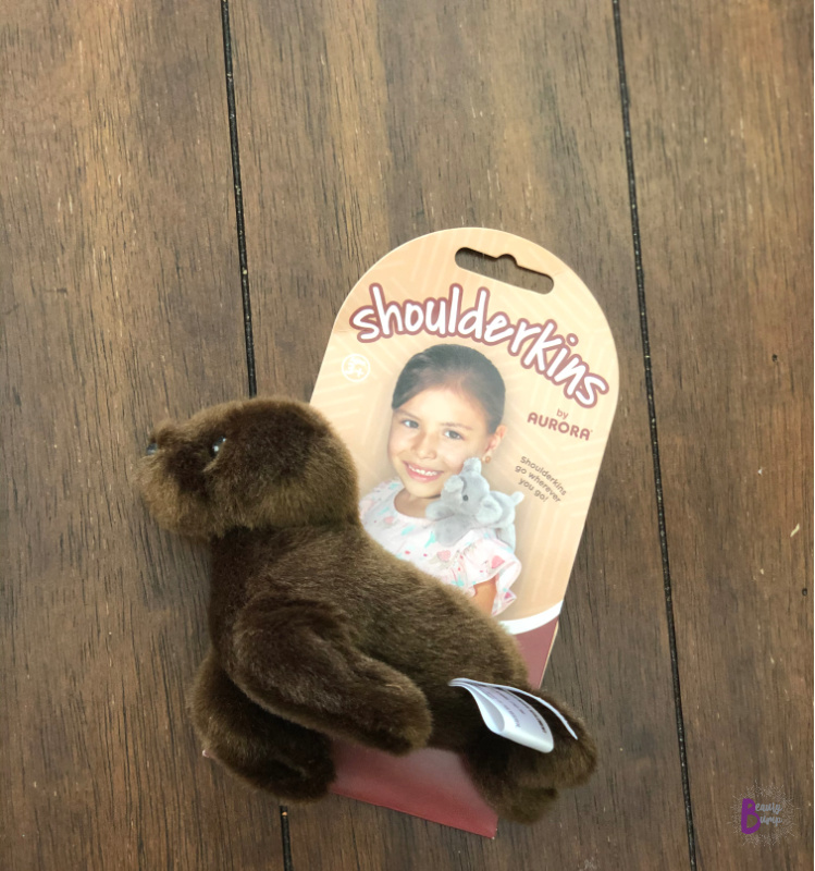 "Sammy Sea Lion is a part of Aurora's line of cute and cuddly 6"" toys. With the use of a magnet, can rest securely on your child's shoulder keeping them company while they play. From turtles to tigers, there are eight to collect and enjoy."