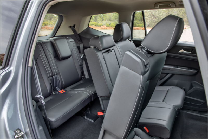 Now, the 7-seater welcomes back the company's competitive edge in a mid-size SUV. It's The perfect alternative to minivans for families who need space but don't want to sacrifice design.